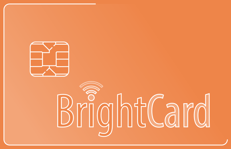 BrightCard Smart Card drawing